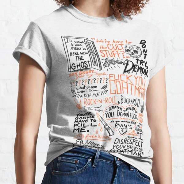 Auf deiner Brücke Goatman Classic T-Shirt