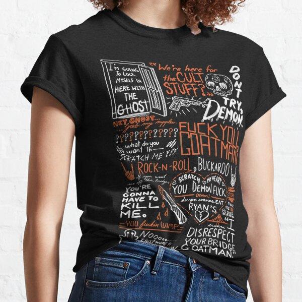 Auf deiner Brücke Goatman (Weiß) Classic T-Shirt