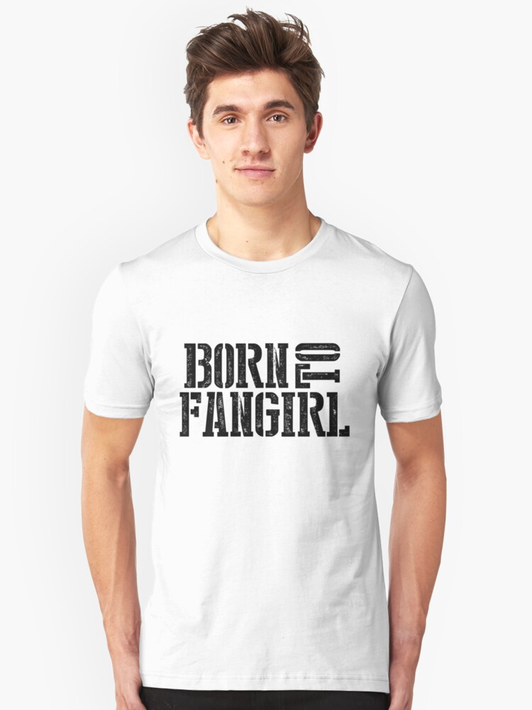 """""""Born to Fangirl"""" - Black by slitheenplanet"""