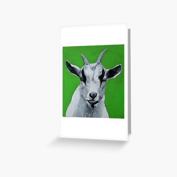 The Little Nigerian Goat Who Lives Across the Road, 2015 Greeting Card