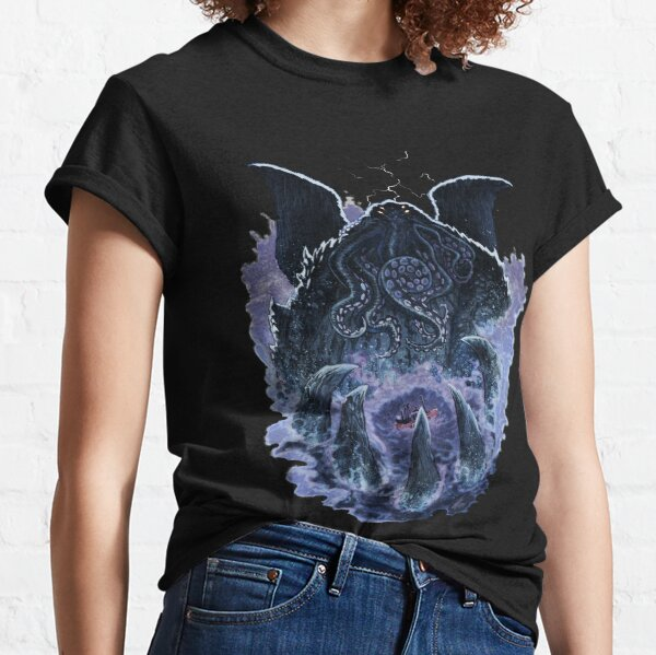 Cthulhuween Day 1 - The Great Cthulhu by Sam Lotfi Classic T-Shirt