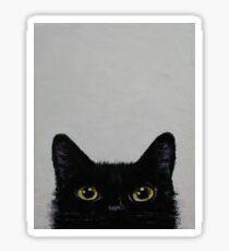 Pegatina Gato negro