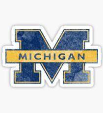 university of michigan ann arbor u of mich Sticker