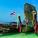 Island hopping, Krabi, Thailand by Tamara Travers