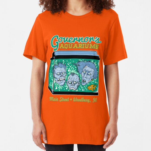 Governor's Aquariums Slim Fit T-Shirt