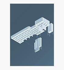 Isometric Council Chambers Photographic Print