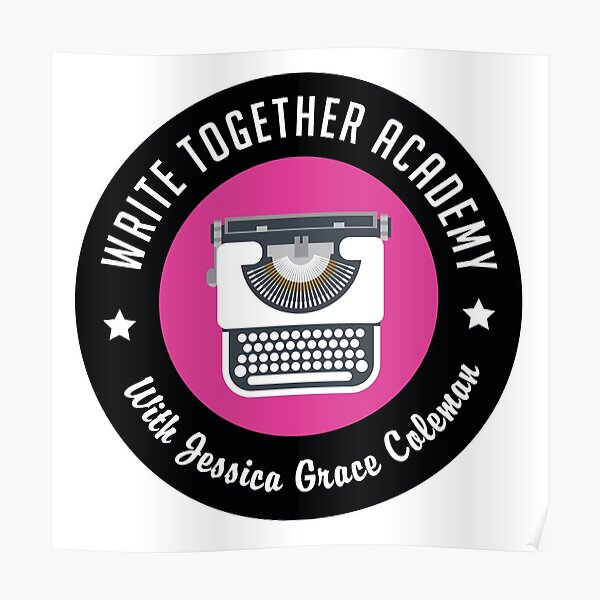 Write Together Academy Merchandise Poster