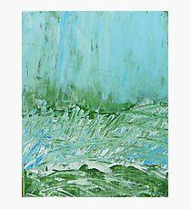 Sky in Wild Grasses Photographic Print