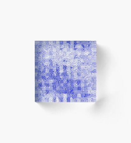Two 19 Acrylic Block