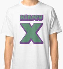 Kinsey's X - green/purple Classic T-Shirt