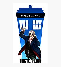 New Doctor Who Photographic Print