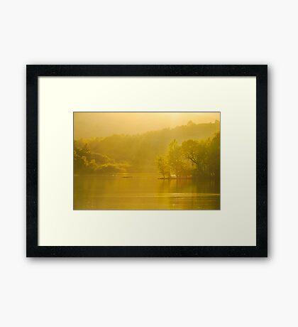 Rydal Summer Evening Framed Print
