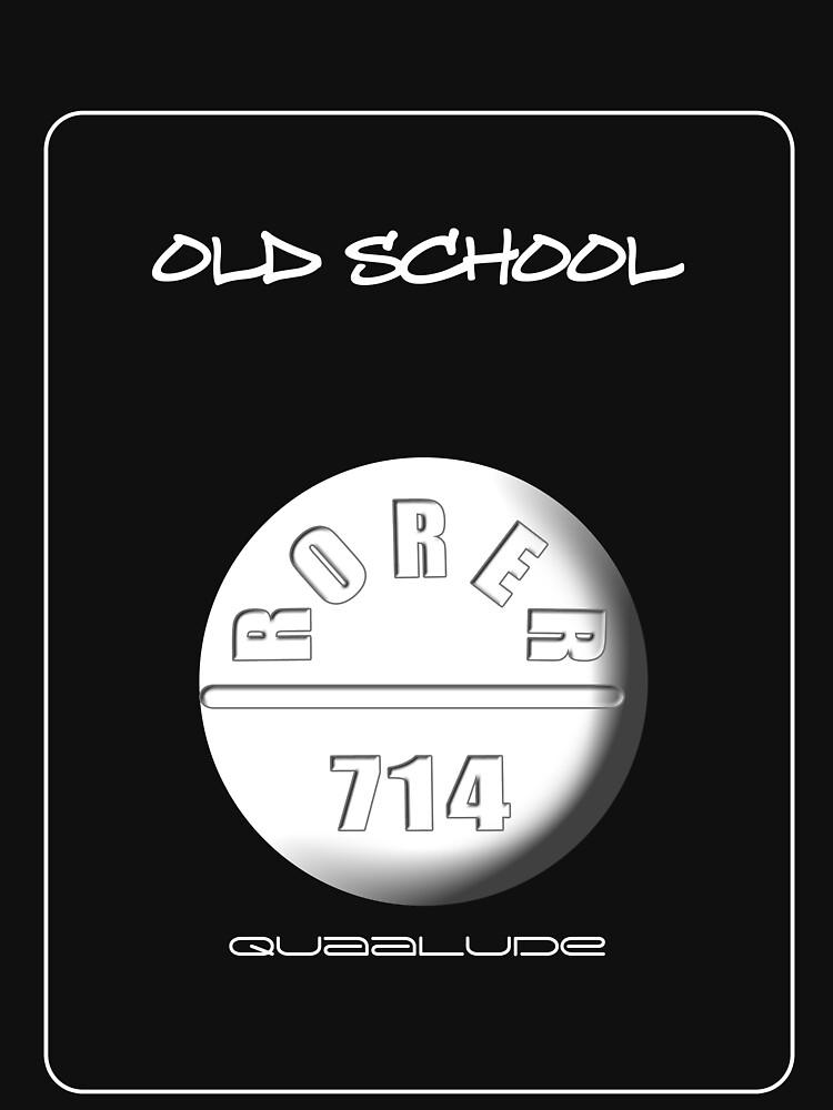 Old School (Quaalude) by oddmetersam