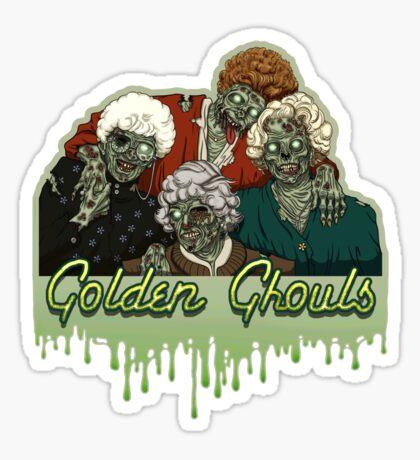 Golden Ghouls Sticker