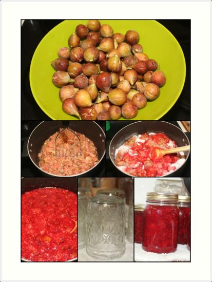 Strawberry Fig Preserves by DebbieCHayes