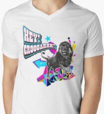 HEY! GROOOOOAR! ★ the lion said ★ Mens V-Neck T-Shirt