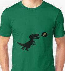 T-Rex eats.  Unisex T-Shirt