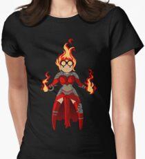 Princess Pyromancer Womens Fitted T-Shirt
