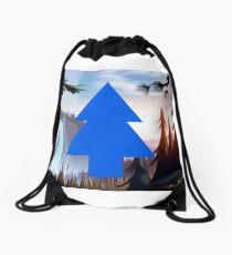 Gravity Falls Pine Tree Drawstring Bag