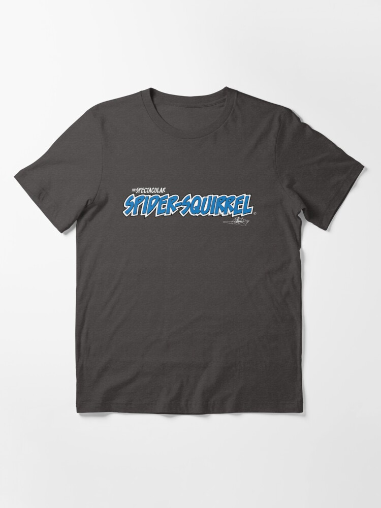 Alternate view of The Spectacular Spider-Squirrel (Alt) Essential T-Shirt