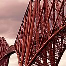 Forth Rail Bridge by AmandaJanePhoto