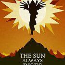 The Sun Always Rises - Princess Celestia Print by CainVoorhees