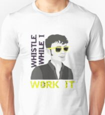 Whistle While I Work It - toby T-Shirt