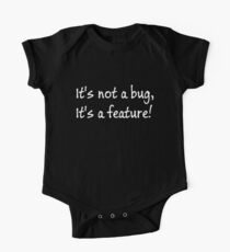 It's not a bug, its a feature! One Piece - Short Sleeve