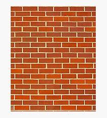 Bricks! Photographic Print