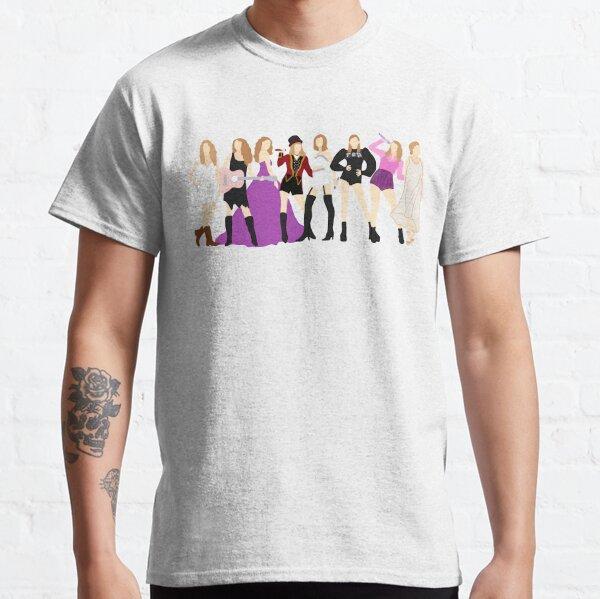 Taylor Swift Epochen * EINSCHLIESSLICH FOLKLORE * Classic T-Shirt