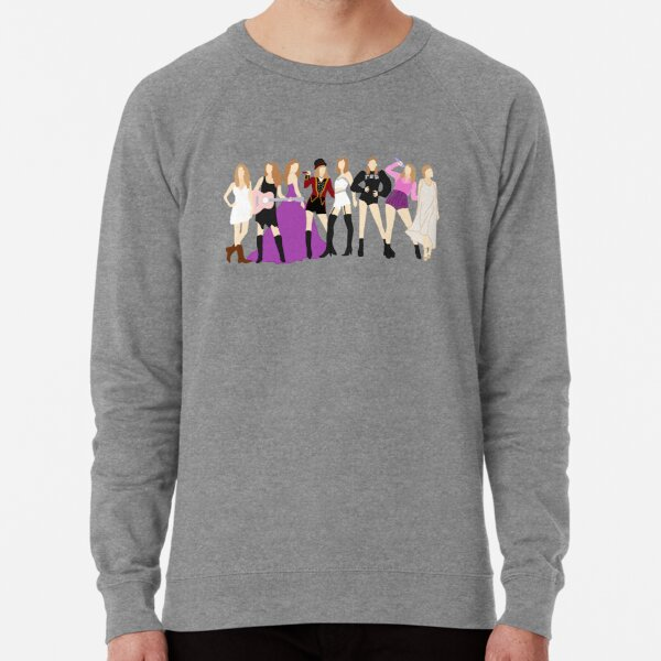Taylor Swift Eras *INCLUDING FOLKLORE* Lightweight Sweatshirt