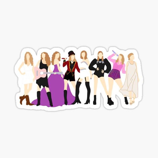 Taylor Swift Epochen Sticker