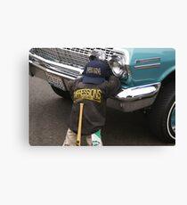 1963 Impala #1; Elks Lodge 12th Annual Car Show, Norwalk, CA USA Canvas Print