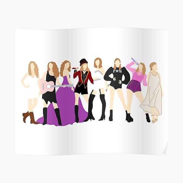 Taylor Swift Eras Poster