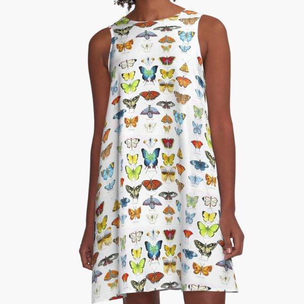Butterflies A-Line Dress