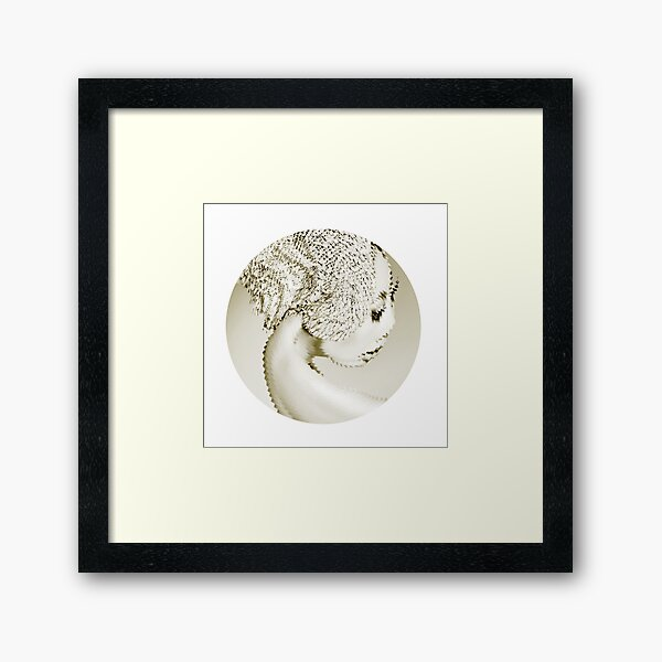 CIRCUNSTANFERENCIA Framed Art Print