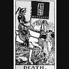 Death By Monsanto Tarot Card by Aengel
