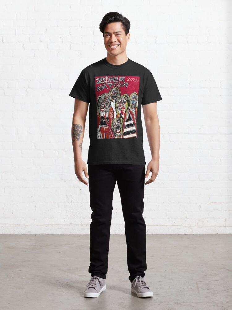 Alternate view of zombie nation 2020 Classic T-Shirt