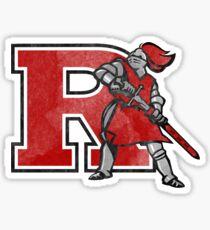 rutgers university ru rut logo sticker Sticker