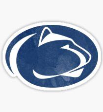 Penn State logo psu ps(i love)u  Sticker