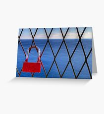 Extra Locked View Greeting Card