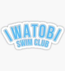 Iwatobi Swim Club - Plain 1 Sticker