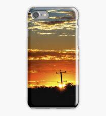 Sunrise Over The 'burbs iPhone Case/Skin