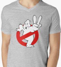 Camiseta para hombre de cuello en v Cazafantasmas 2 II