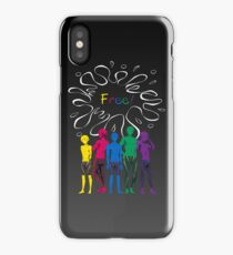 """The Guys of """"Free!"""" - version 1 iPhone Case"""