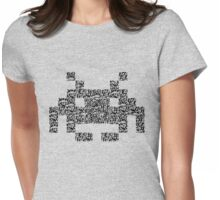 QR Invaders Womens Fitted T-Shirt