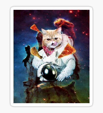Sir Space Pumpkin Sticker