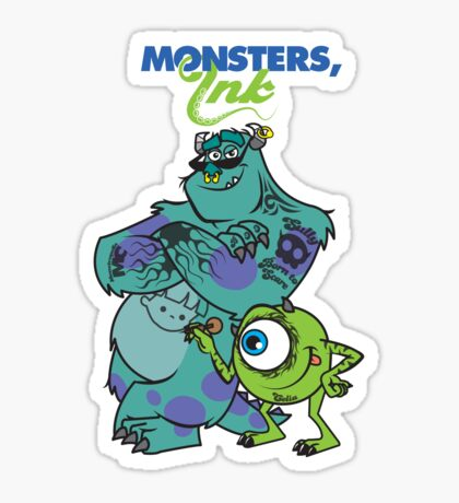 Monsters Ink Sticker