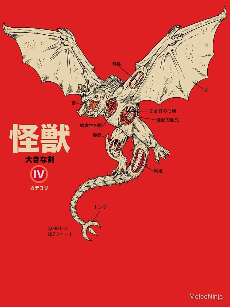 Kaiju Anatomy 2 | Unisex T-Shirt