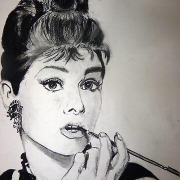 Audrey Hepburn by ketchambr